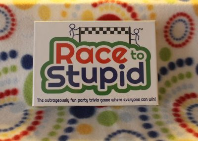 Race to Stupid Front Packaging