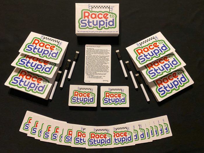 Race to Stupid Box and Game